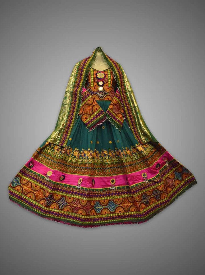 Kuchi Heritage Afghani Dress