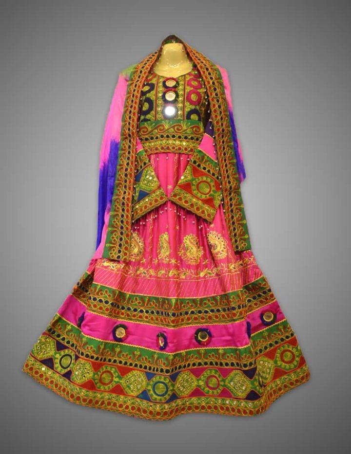 Glowing Ember Kuchi Dress