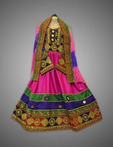 Bibi Sherena Afghan Kuchi Dress