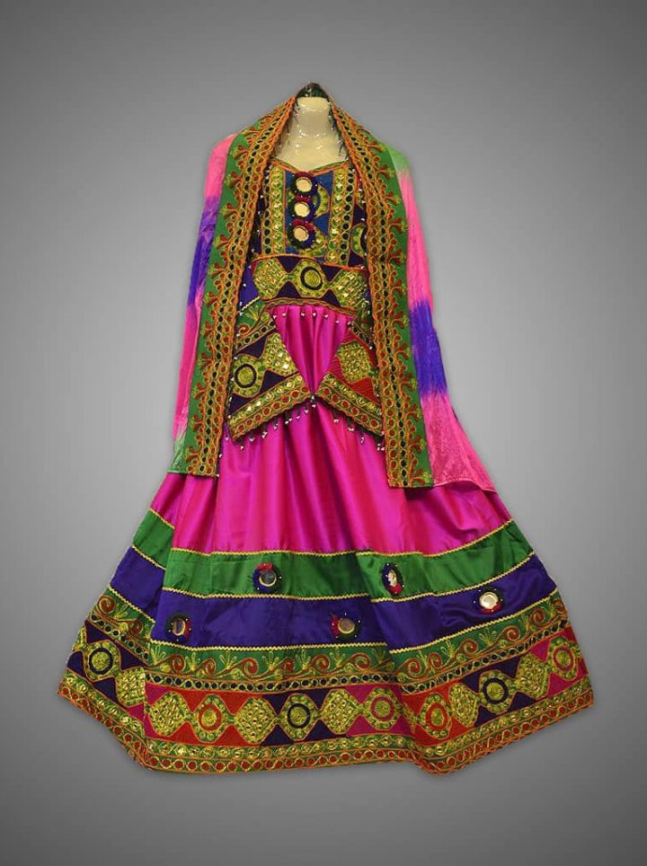 Bibi Sherena Afghan Kuchi Dress