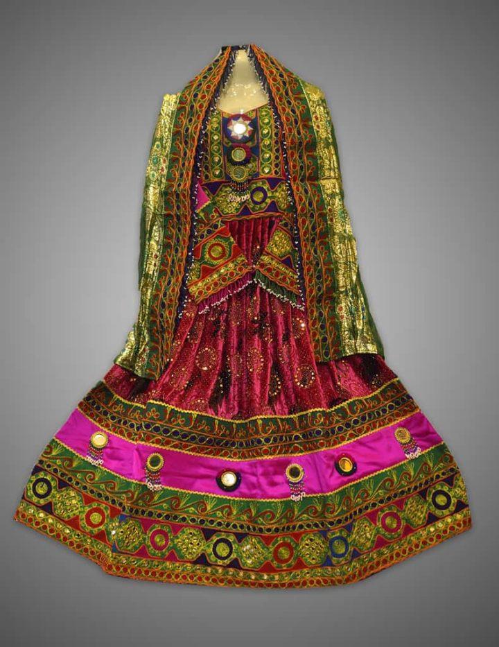 Libas E Sharbati Multi Frock Kuchi Dress