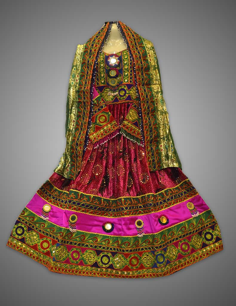 Libas E Sharbati Multi Frock Kuchi Dress