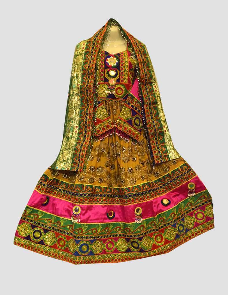 Kuchi Mehndi Dress