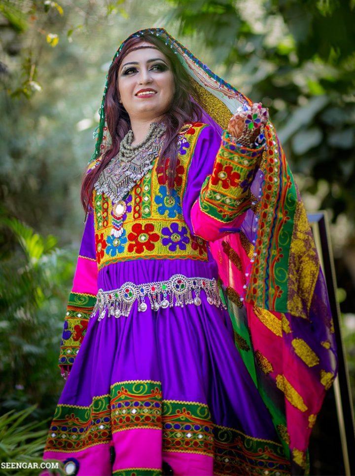 Afghan Kuchi Tribal Bangles with Rings