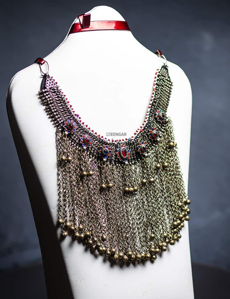 Afghan Gypsy Tribal Necklace