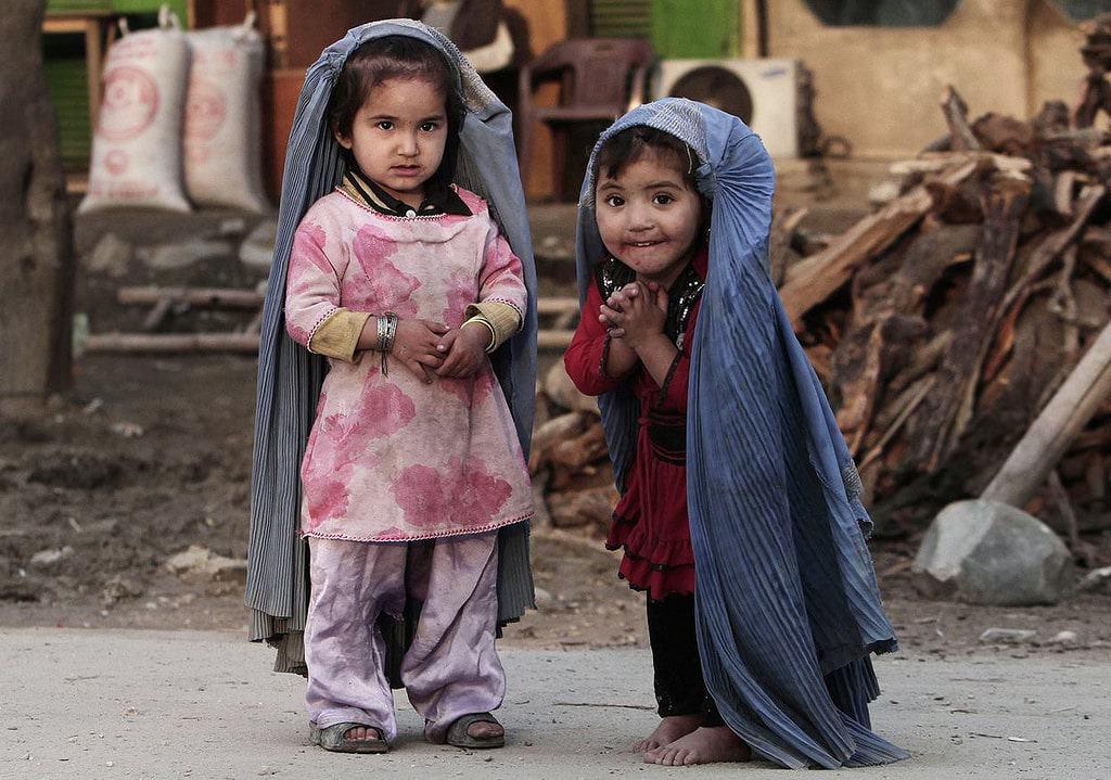 Pashtuns Kids Burqa