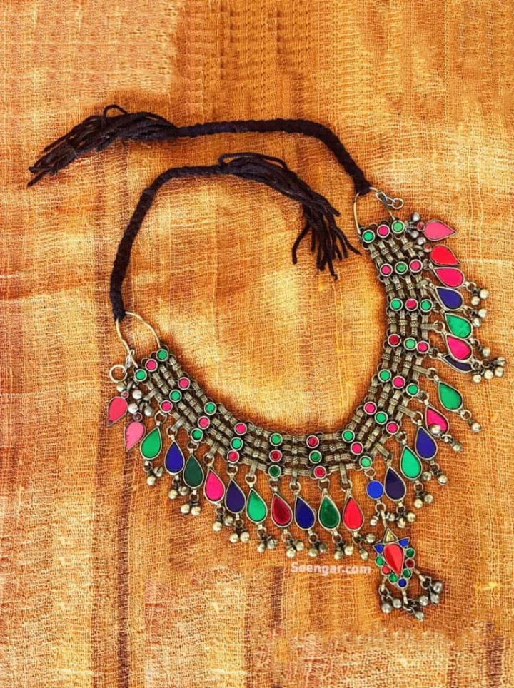 Nauratan Thread Choker Necklace
