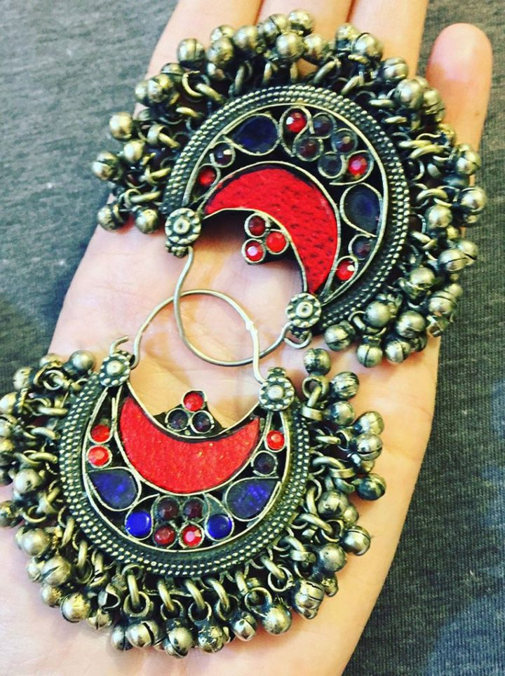 Mughal Hoop Earrings