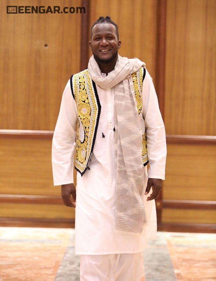 Golden White Waistcoat