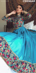 Blue Afghan Clothes